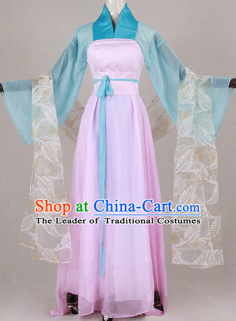 Traditional Chinese Ancient Tang Dynasty Clothing Han Fu Dresses Beijing Classical China Clothing for Women