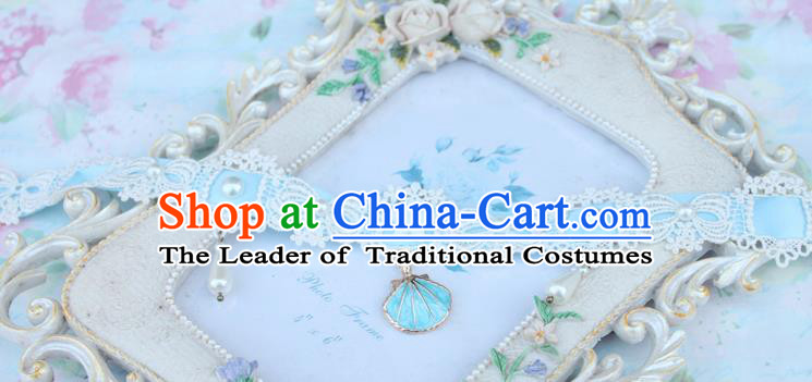 Traditional Classic Pearl Necklace, Restoring Ancient Lace Princess Necklace for Women