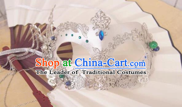 Traditional Chinese Ancient Jewelry Accessories, Ancient Chinese Imperial Princess Face Mask for Women