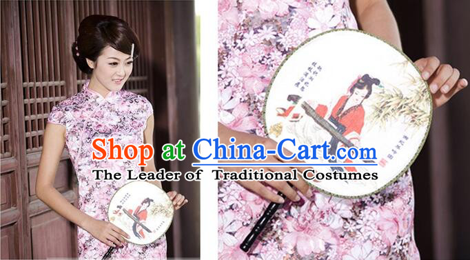 Chinese Traditional Clothes Min Guo Time Female Clothing Nobel Lady Stage costumes Girl