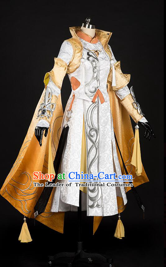 Chinese Cos Fairy Costume Garment Dress Costumes Dress Adults Cosplay Japanese Korean Asian King Clothing