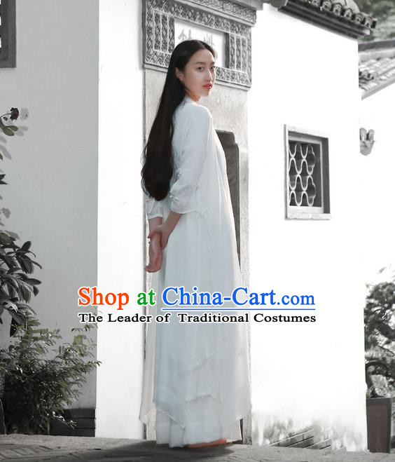 Traditional Chinese Female Costumes,Chinese Acient Hanfu Clothes, Chinese Tang Suits Cardigan for Women
