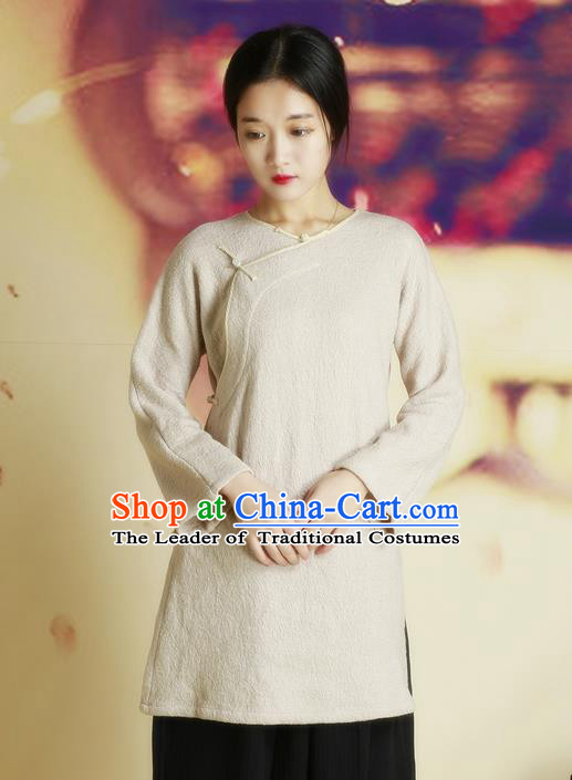 Traditional Chinese Female Costumes, Chinese Acient Hanfu Clothes, Chinese Cheongsam, Tang Suits Blouse for Women