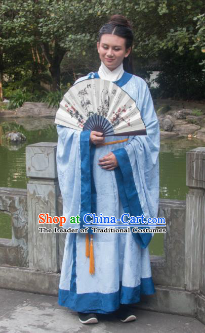 Traditional Ancient Chinese Nobility Childe Costume, Elegant Hanfu Clothing Chinese Han Dynasty Dandies Clothing for Men