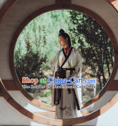 Traditional Ancient Chinese Imperial Princess Costume, Elegant Hanfu Clothing Chinese Jin Dynasty Dress Clothing for Women