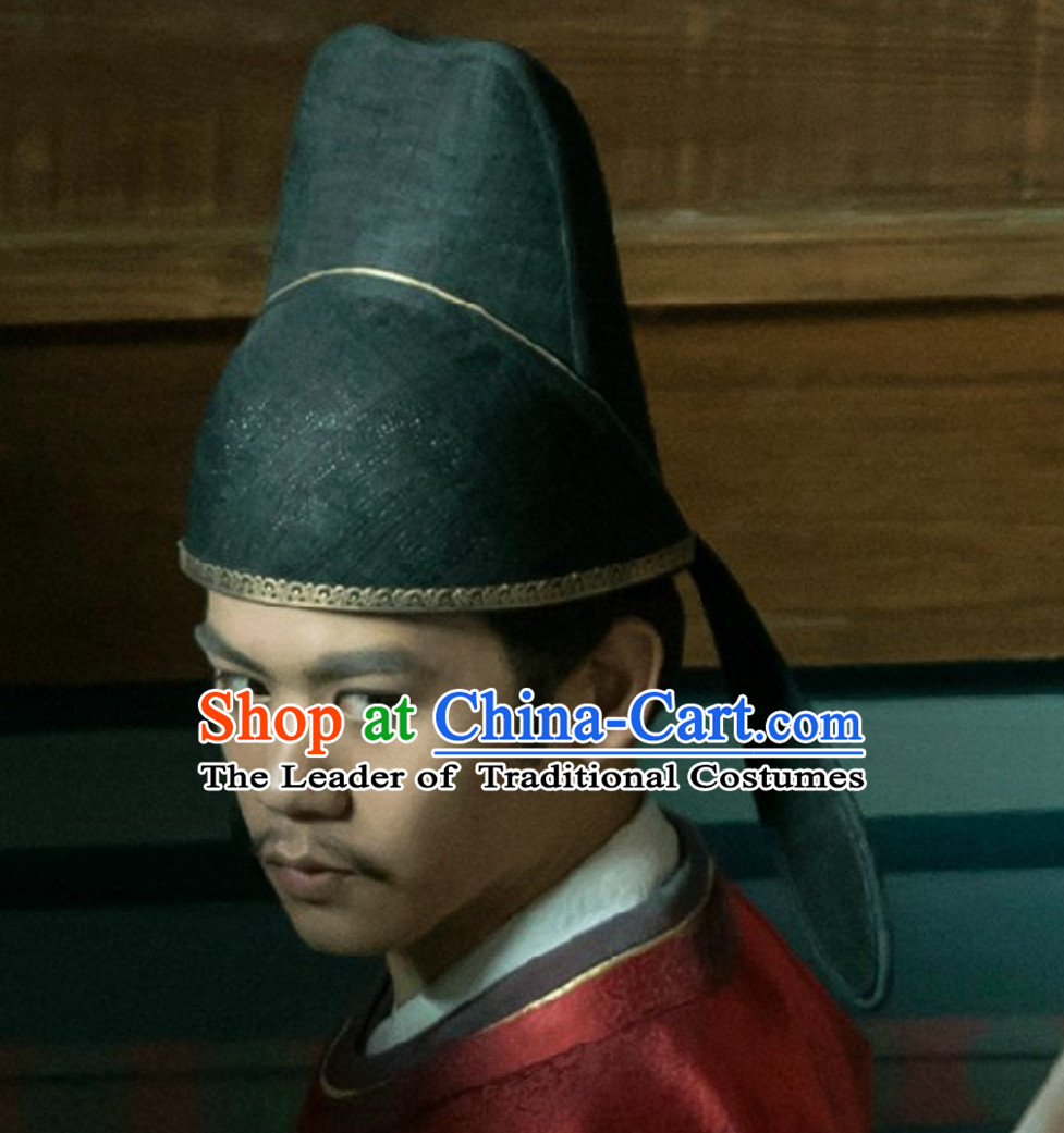 Ancient Chinese Tang Dynasty Official Hat for Men