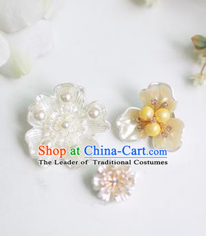 Korean National Accessories Bride Shell Brooch Decorations for Kids