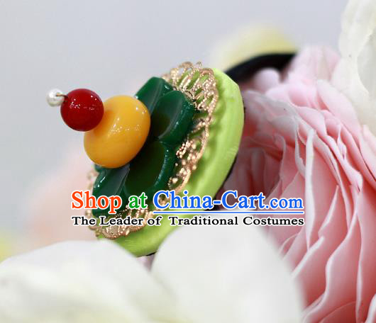 Korean National Hair Accessories Flower Hair Clasp, Asian Korean Hanbok Fashion Headwear Headband for Kids