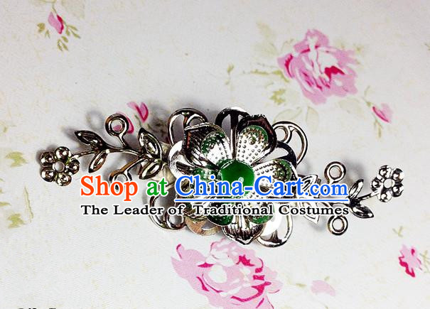 Traditional Chinese Ancient Classical Hair Accessories Hanfu Hair Clip Step Shake Bride Hairpins for Women