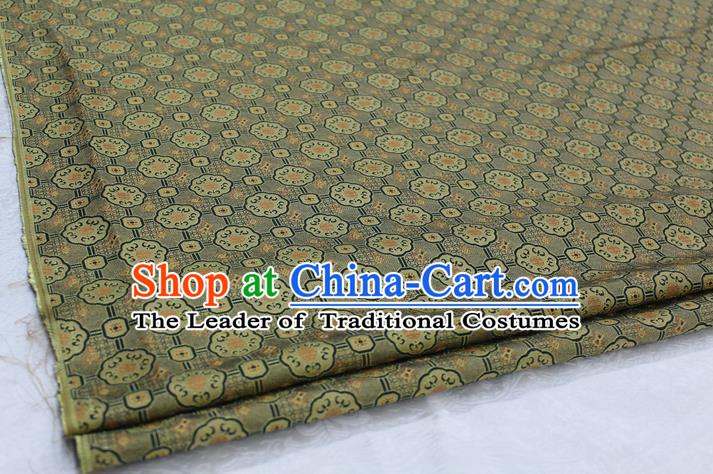 Chinese Traditional Ancient Costume Palace Pattern Mongolian Robe Brocade Tang Suit Fabric Hanfu Material