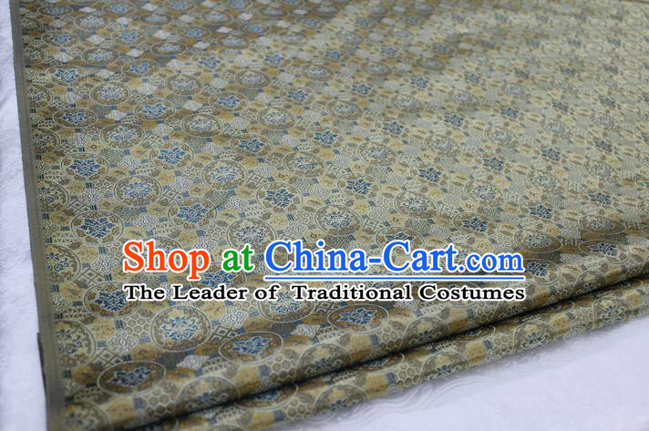 Chinese Traditional Ancient Costume Royal Palace Pattern Tang Suit Mongolian Robe Brocade Satin Fabric Hanfu Material