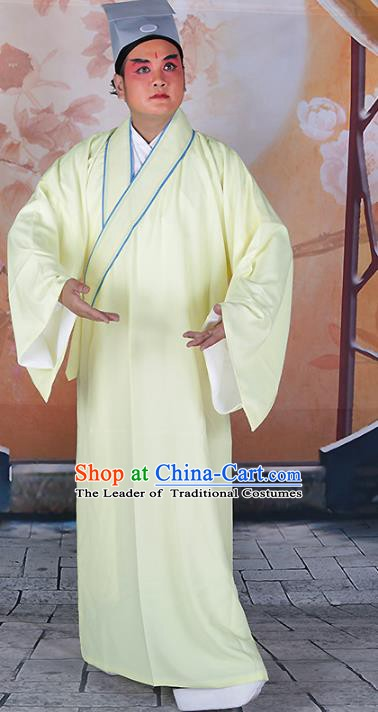 Chinese Beijing Opera Niche Robe Costume , China Peking Opera Scholar Gwanbok Clothing
