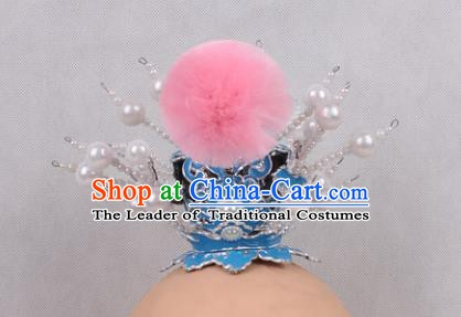 Asian Chinese Beijing Opera Prince Hair Accessories, Traditional China Peking Opera Lang Scholar Headwear