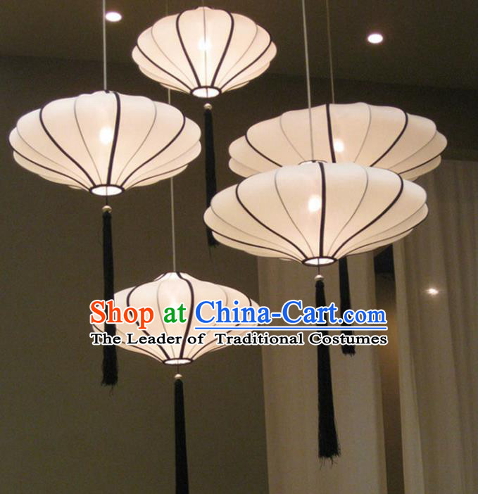 Traditional Chinese Handmade Cloth Palace Lantern China Ceiling Palace Lamp