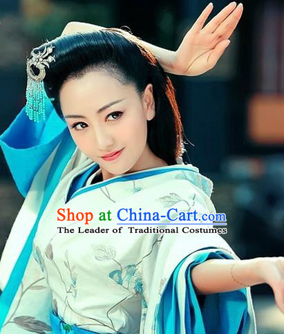 Traditional Handmade Chinese Ancient Classical Hair Accessories Han Dynasty Hairpin, Hanfu Hair Jewellery, Hair Fascinators Hairpins for Women