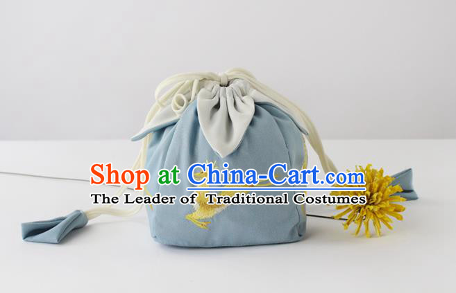 Traditional Ancient Chinese Embroidered Handbags Embroidered Deer Bag for Women