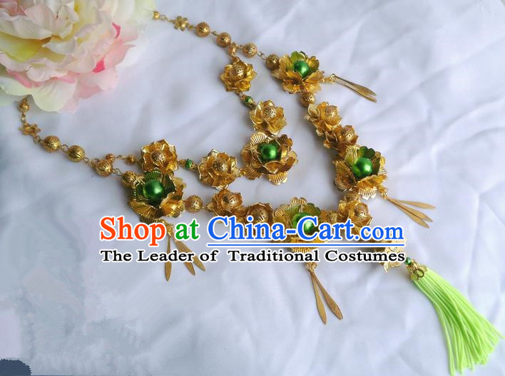 Traditional Handmade Chinese Ancient Classical Accessories Necklace for Women