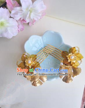 Traditional Handmade Chinese Ancient Classical Hair Accessories Hairpin, Green Hair Claws for Women