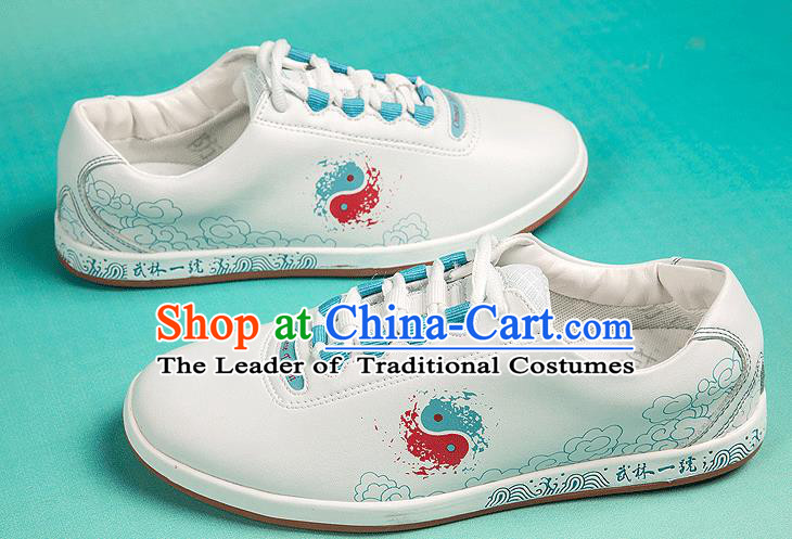 Traditional Chinese Top Kung Fu Shoes Martial Arts Kung Fu Training Air Hole Shoe, Tang Suit Gongfu Shaolin Wushu Tai Chi Taiji Teacher Shoes for Women