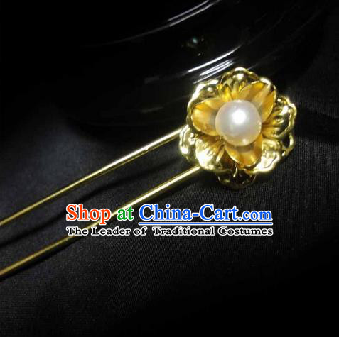 Traditional Handmade Chinese Ancient Classical Hair Accessories Barrettes Butterfly Hairpin, Hair Sticks Hair Jewellery, Hair Fascinators Hairpins for Women