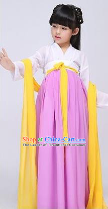 Traditional Ancient Chinese Imperial Emperess Costume, Chinese Wedding Dress, Cosplay Chinese Peri Imperial Princess Clothing Hanfu for Kids