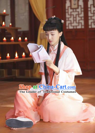 Traditional Ancient Chinese Imperial Emperess Costume, Chinese Han Dynasty Dress, Cosplay Chinese Peri Imperial Princess Embroidered Clothing Hanfu for Women