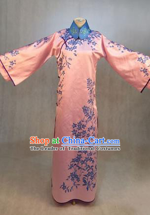 Traditional Ancient Chinese Imperial Emperess Costume, Chinese Qing Dynasty Manchu Lady Dress, Cosplay Chinese Manchu Minority Princess Embroidered Clothing for Women