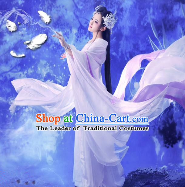 Traditional Ancient Chinese Imperial Princess Costume, Chinese Tang Dynasty Young Lady Dress, Cosplay Chinese Princess Clothing Hanfu for Women