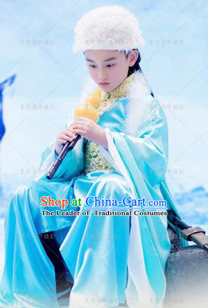 Traditional Ancient Chinese Imperial Boys Costume, Chinese Han Dynasty Children Dress, Cosplay Chinese Prince Clothing Hanfu for Kids