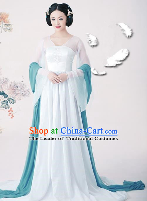 Traditional Ancient Chinese Imperial Emperess Costume, Chinese Tang Dynasty Fairy Dress, Cosplay Palace Lady Chinese Imperial Consort Clothing for Women