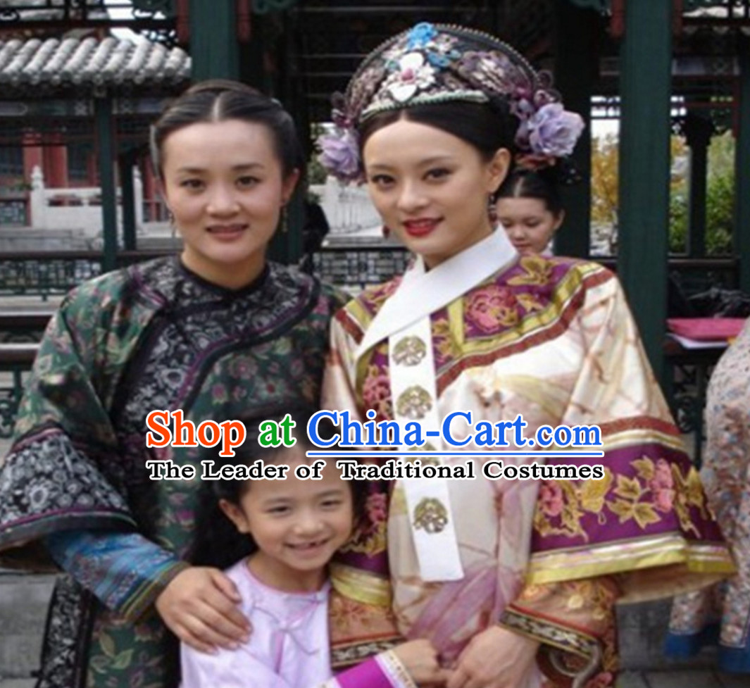 Chinese TV Drama Zhen Huan Legend Empress Clothing Garment Clothes for Women