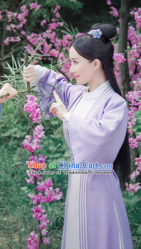 Traditional Ancient Chinese Imperial Princess Costume, Chinese Qing Dynasty Manchu Palace Nobility Lady Dress, Chinese Legend of Dragon Ball Mandarin Fermale Robes, Ancient China Aristocratic Miss Clothing for Womenn