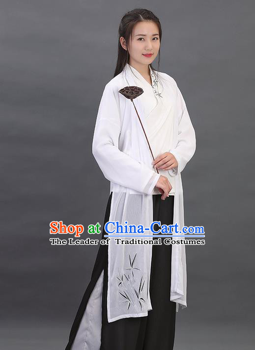 Traditional Ancient Chinese Young Lady Elegant Costume Embroidered BeiZi Cardigan, Elegant Hanfu Clothing Chinese Song Dynasty Imperial Princess Clothing for Women