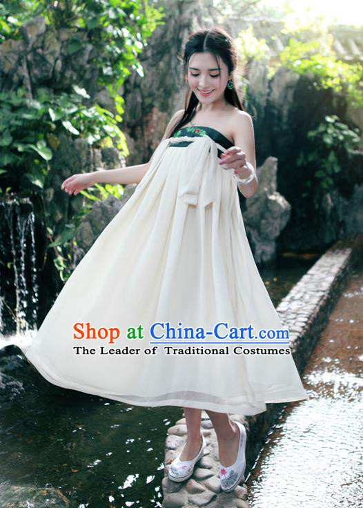 7e103880a8568 Traditional Ancient Chinese National Pleated Skirt Costume