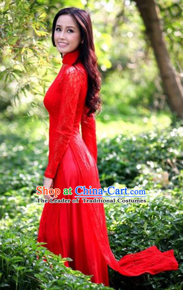 Vietnamese Trational Dress Vietnam Ao Dai Qipao Clothing