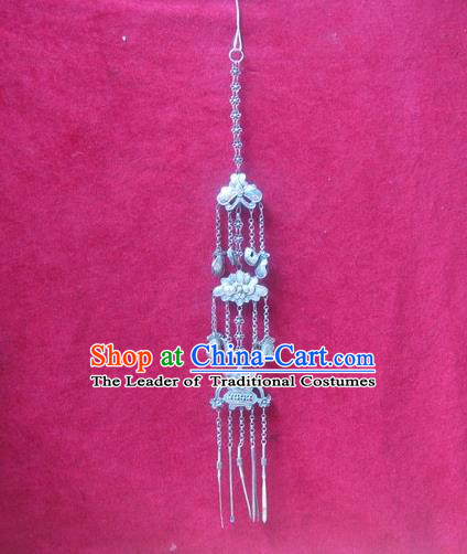 Traditional Handmade Chinese Ancient Classical Accessories Miao Nationality Pendant Hmong Pendent for Women