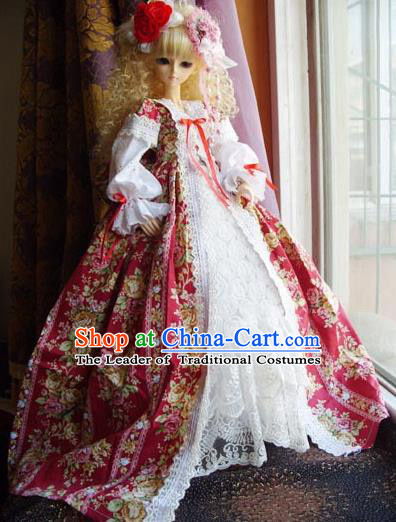 Top Grade Traditional China Ancient Palace Lady Costumes Complete Set, China Ancient Cosplay Princess Dress Clothing for Adults and Kids