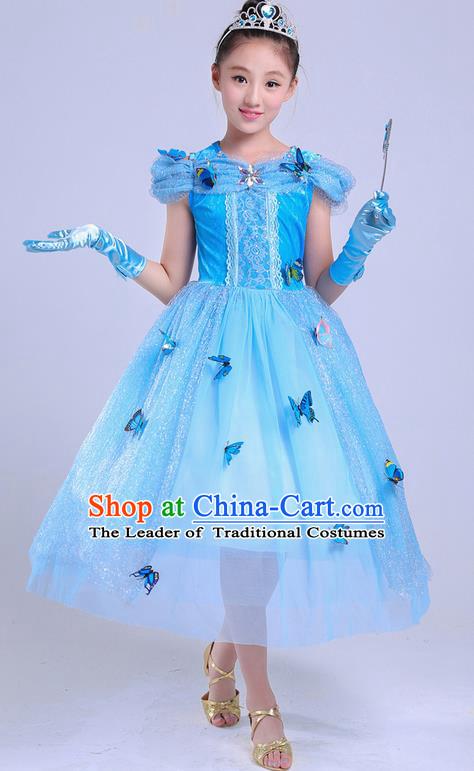 Top Grade Chinese Professional Performance Costume, Children
