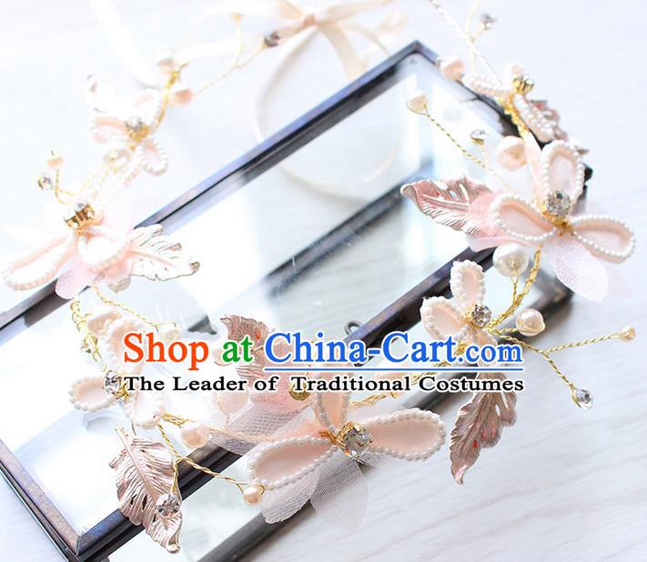 b10ed44f0 Top Grade Handmade Wedding Bride Hair Accessories Silk Flowers Hair Clips,  Traditional Princess Baroque Beads Hair Clasp Headpiece for Women