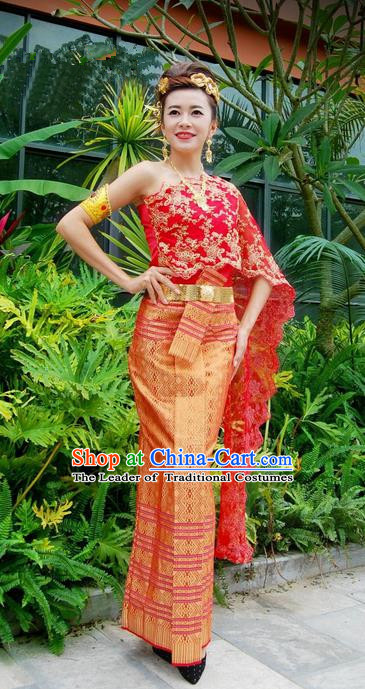 656018aaacf Traditional Traditional Thailand Female Clothing