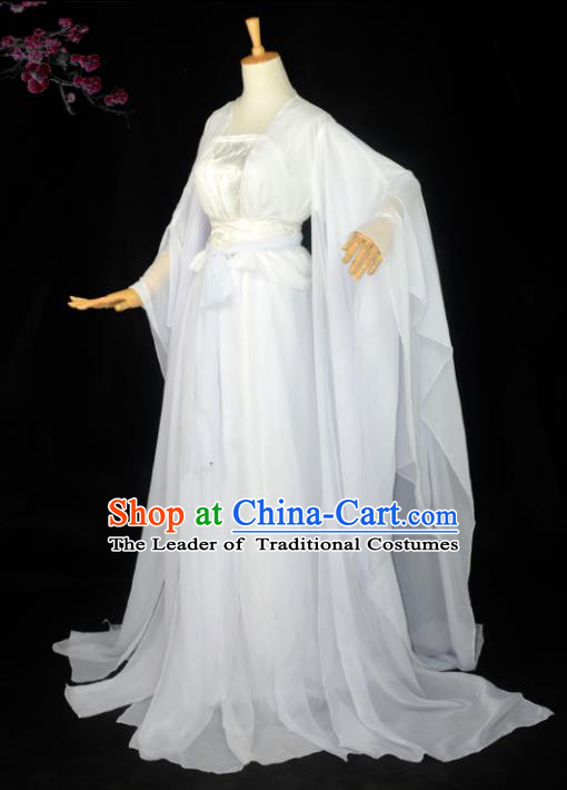 Chinese Ancient Cosplay Costumes Chinese Traditional Embroidered Clothes Ancient Chinese Cosplay Swordsman Knight Costume