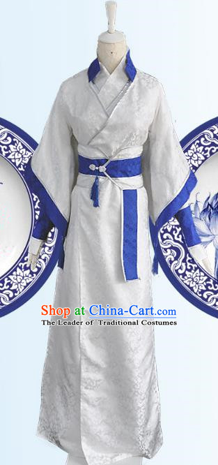 Chinese Ancient Cosplay Royal Highness Costumes, Chinese Traditional Dress Clothing Chinese Cosplay Prince Costume for Men