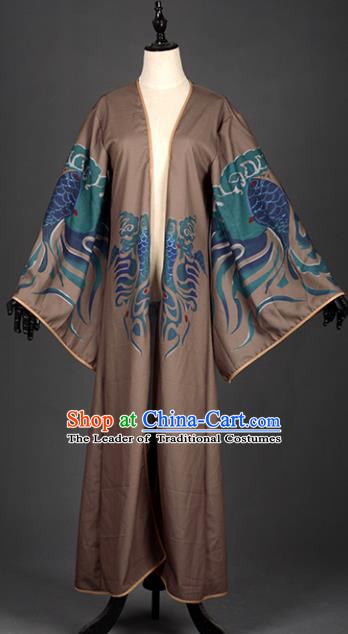 Chinese Ancient Cosplay Tang Dynasty Royal Highness Robe Costumes, Chinese Traditional Dress Clothing Chinese Cosplay Prince Costume for Men