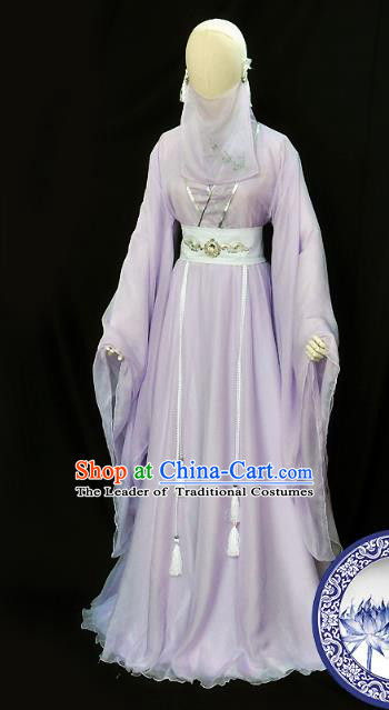 Chinese Ancient Cosplay Swordswoman Costumes, Chinese Traditional Dress Clothing Chinese Cosplay Palace Lady Costume for Women