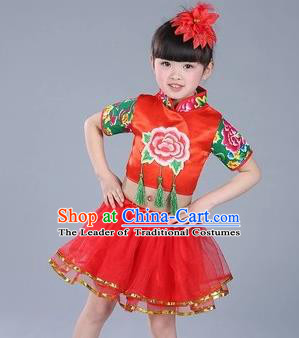 dccf7be87 Traditional Chinese Classical Dance Yangge Fan Dance Costume ...
