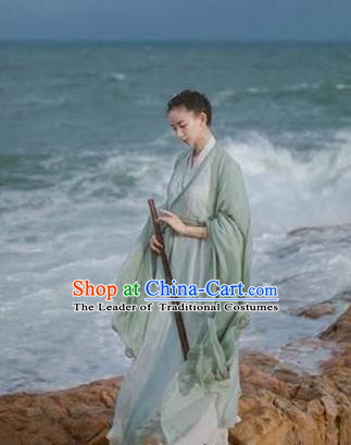 Traditional Chinese Swordswoman Hanfu Han Dynasty Heroic Woman Costume, Elegant Hanfu Clothing Chinese Ancient Chivalrous Women Dress