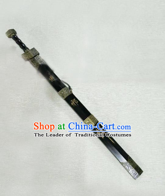 Traditional Chinese Ancient Swordsman Sword, Chinese Qin Dynasty Kawaler Blade