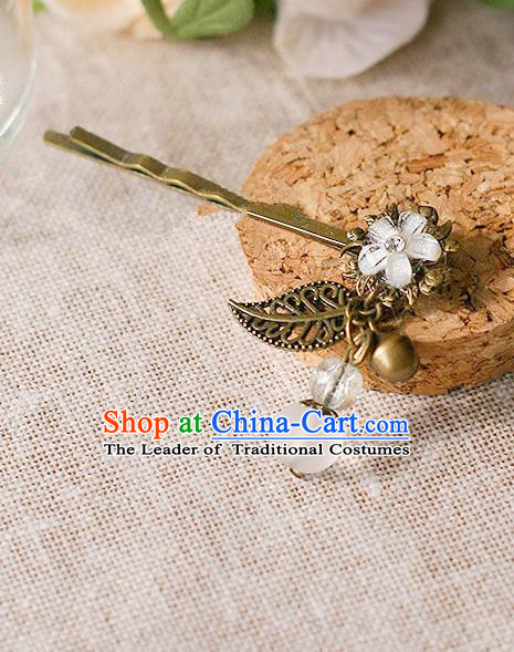 Chinese Handmade Classical Accessories Bride Tassel Hairpin, China Xiuhe Suit Hair Claw for Women