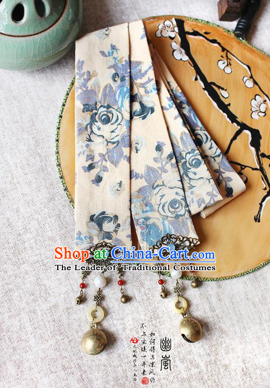 Chinese Handmade Classical Hair Accessories Hanfu Headband, China Ancient Hair Clasp Headwear for Women for Men