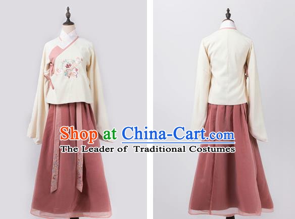 Ancient Chinese Costume hanfu Chinese Style Wedding Dress Tang Dynasty princess Clothing